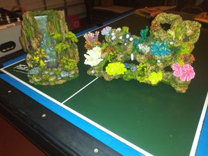 Fish Tank With Stand And Top Light for Sale in Clermont, FL