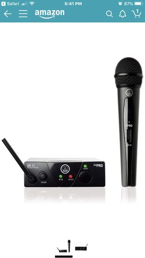 AKG Pro cordless mic for Sale in Tyler, TX