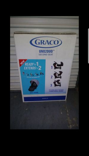 NEW IN BOX GRACO UNO2DUO SECOND SEAT for Uno2duo single to double stroller (this is the 2nd seat and attaches to stroller) for Sale in Pompano Beach, FL