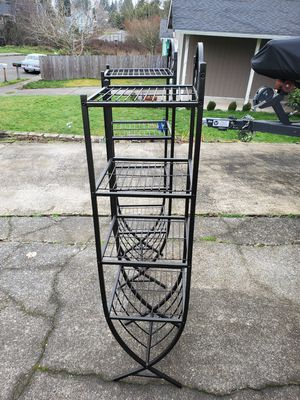 Designer metal shelving units for Sale in Tacoma, WA
