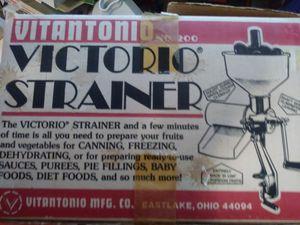 Vitantonio victorio strainer for Sale in Centreville, VA
