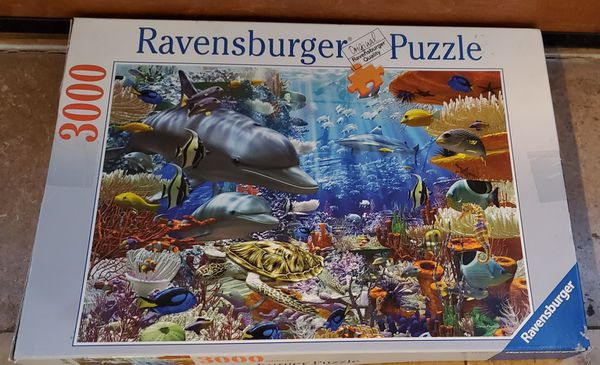 3000 Piece Ravensburger Puzzle Only