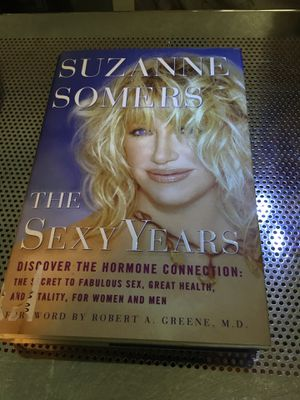 Suzanne Somers The Sexty Years. Hard cover book. for Sale in Las Vegas, NV