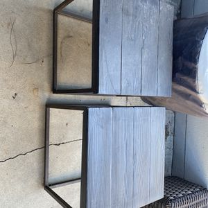 Set Of Two Heavy Outdoor Tables for Sale in Lakewood, CA
