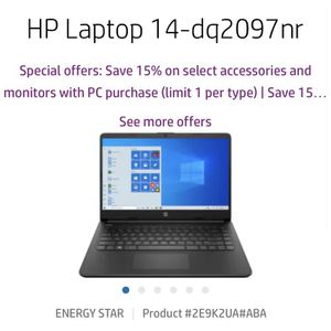 Brand New HP 14-dq2097nr Laptop for Sale in Redlands, CA