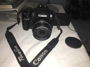 Canon PowerShot SX50 HS 12.1MP Digital Camera - Black for Sale in Los Angeles, CA
