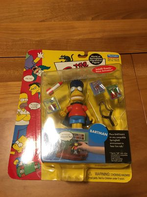 Simpsons Bartman Action Figure for Sale in Queens, NY