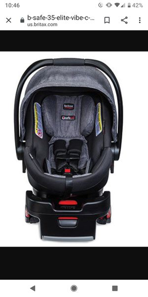 Britax infant carrier car seat b-safe elite for Sale in Lehigh Acres, FL