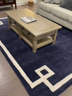 Pottery Barn Coffee Table Original Price $750 for Sale in Sandy Springs,  GA