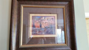 Framed painting with glass for Sale in Wilder, KY