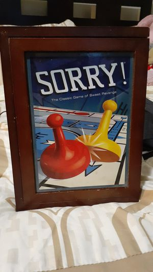 Vintage Sorry board game for Sale in Lakewood, CA