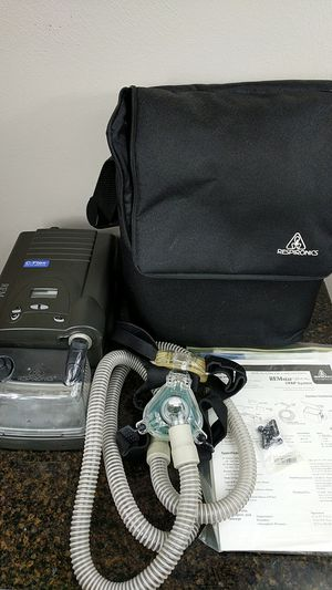 Respironics remstar plus with c-flex and heated humidifier CPAP Apnea for Sale in Pittsburgh, PA