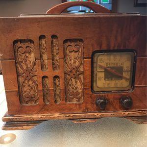 Antique RCA Radio DETROLA for Sale in Clifton, NJ