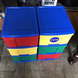 3-Drawer Craft Toy Kids Storage Units for Sale in Alta Loma, CA