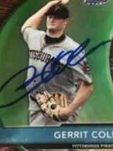 Gerrit Cole 2012 Bowman Best Prospects Rookie RC Signed Autograph Card for Sale in Surprise,  AZ