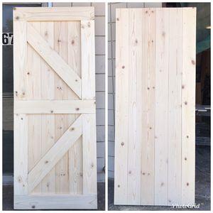 Beautiful real wood Barn Door for Sale in Covina, CA