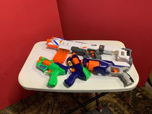 4 Nerf guns for Sale in Raleigh, NC
