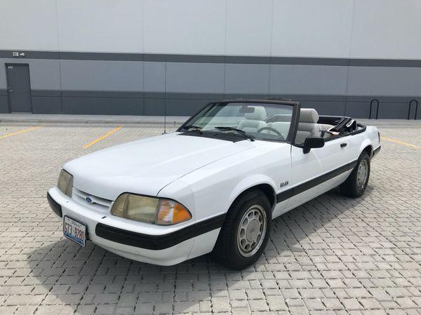 1989 Mustang Lx Convertible 5.0