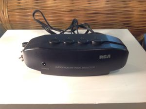 RCA AUDIO/VIDEO/S-VIDEO SELECTOR WITH CABLE for Sale in Spring Hill, FL