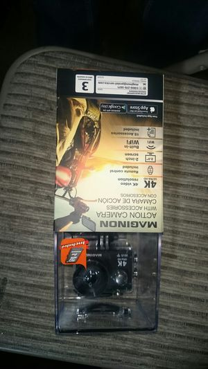 Brand new Maginon Action Camera with accessories for Sale in Riverside, CA