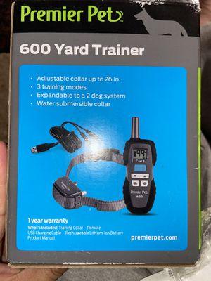 600 yard trainer dog collar for Sale in San Jacinto, CA