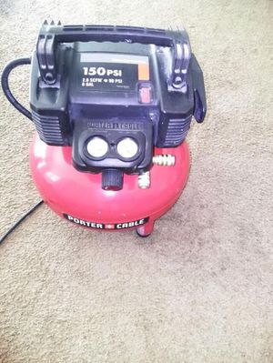 Porter cable air compressor for Sale in Atlanta, GA