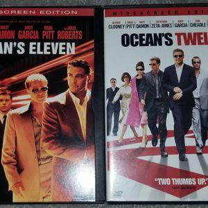 Ocean's Eleven & Ocean's Twelve - WIDESCREEN, DVDs for Sale in Broomfield, CO