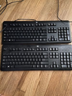 2 Hp computer keyboards for Sale in Silver Spring, MD