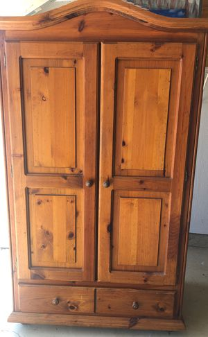 Armoire for Wardrobe or TV for Sale in Vermilion, OH