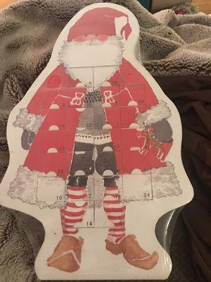 New santa advent calendar for Sale in Edison, NJ