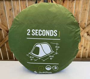 Quechua 2 Second 2-Person Camping Tent $150 for Sale in Whittier, CA
