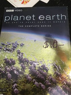 Planet Earth As You've Never Seen It Before! 5 Disc DVD for Sale in Southfield,  MI