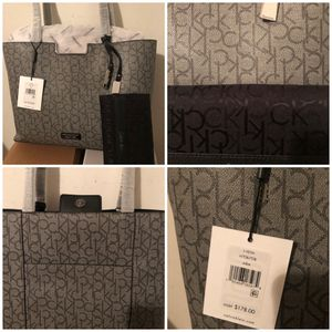 New Calvin Klein Tote and matching Wallet Set for Sale in Charlotte, NC