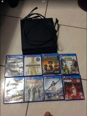Ps4 With Games for Sale in Miami, FL
