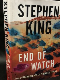 The Bill Hodges Trilogy: End of Watch by Stephen King (2016, Hardcover) ⚡️SHIPS FAST & FREE⚡️ for Sale in Wright City,  MO