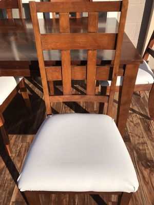2 heavy solid wood chairs for Sale in Lodi, CA