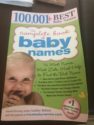 FREE Baby Names Book for Sale in Grosse Pointe Woods, MI