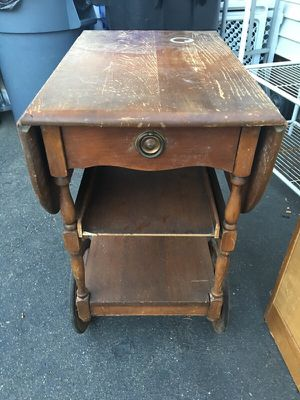 Antique cart table for Sale in Peabody, MA