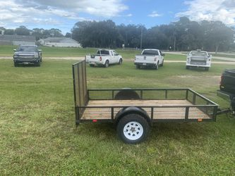 5x10 trailer with title and new tires for Sale in Port Orange,  FL