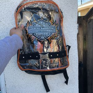 Harley Davidson Clear Backpack for Sale in West Covina, CA