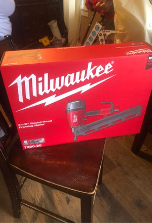 Milwaukee nail gun for Sale in Los Angeles, CA