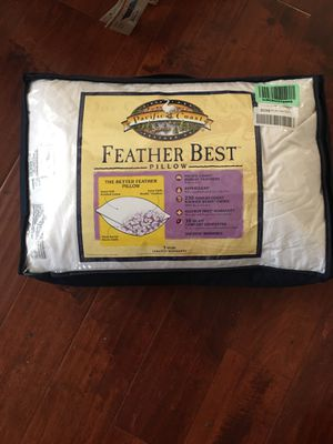 Used, pacific coast feather best pillow new for Sale for sale  Walnut, CA