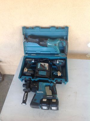 Makita power tools 18v and 36v Rotary hammer for Sale in Montebello, CA