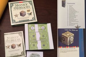 Money origami with instructions and bonus CD. NEVER BEEN USED. for Sale in Mission Viejo, CA