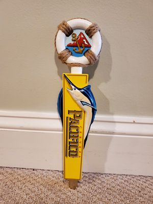PACIFICO MARLIN BEER TAP HANDLE for Sale in Glen Ellyn, IL