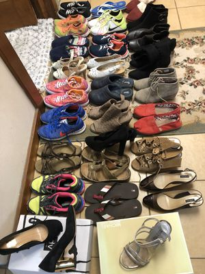 27 Pairs of shoe for Sale in Orlando, FL