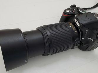 Nikon D5100 & AF-S Nikkor 55-200 mm 1:4-5.6 G ED Lens for Sale in Brandon,  FL