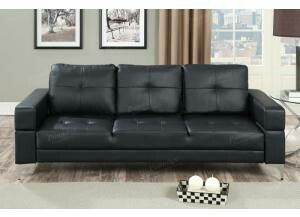 F6830, Black Adjustable Futon Sofa for Sale in Philadelphia, PA