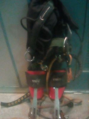 The safety harness and rope only for Sale in Lodi, CA