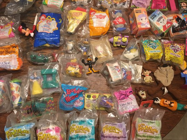 63 plus In The Package Collectable Mcdonlds Happy Meal Toys